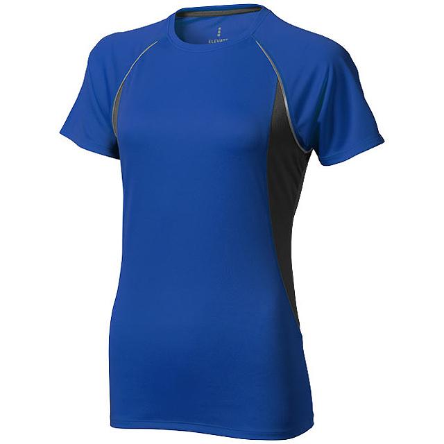 Dámské Tričko Quebec s krátkým rukávem, cool fit - modrá