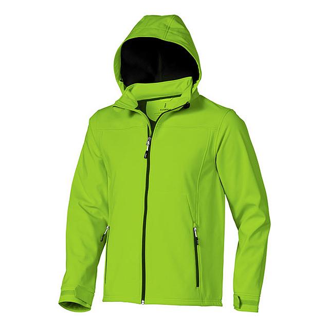 Softshellová bunda Langley - zelená