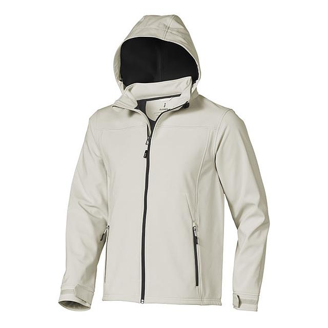 Softshellová bunda Langley - šedá