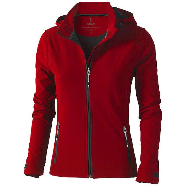Dámská softshellová bunda Langley - červená