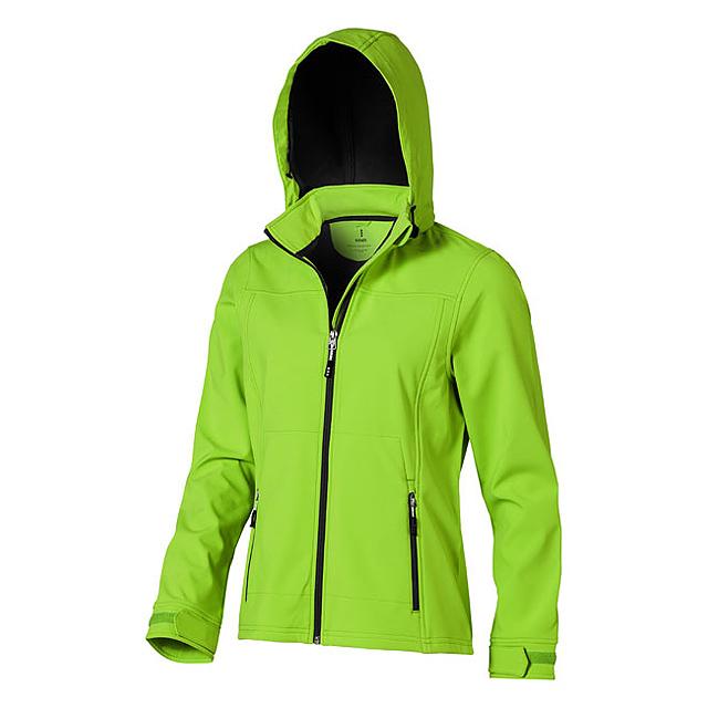 Dámská softshellová bunda Langley - zelená