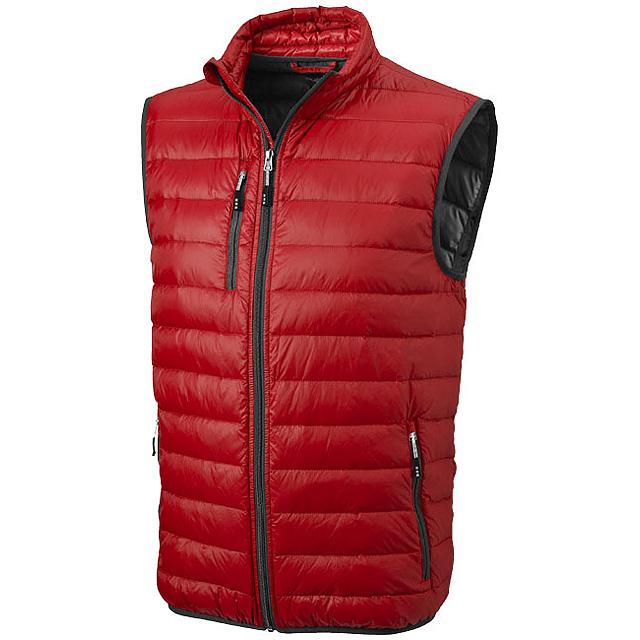 Lehká péřová vesta Fairview - červená