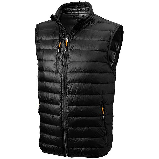 Lehká péřová vesta Fairview - černá