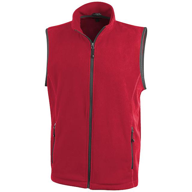 Vesta Tyndall z materiálu micro fleece - červená