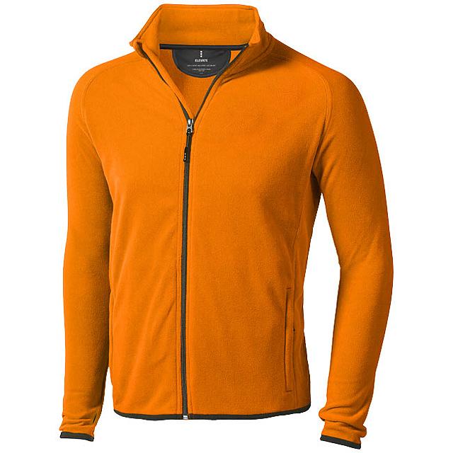Bunda Brossard z materiálu mikro fleece - oranžová