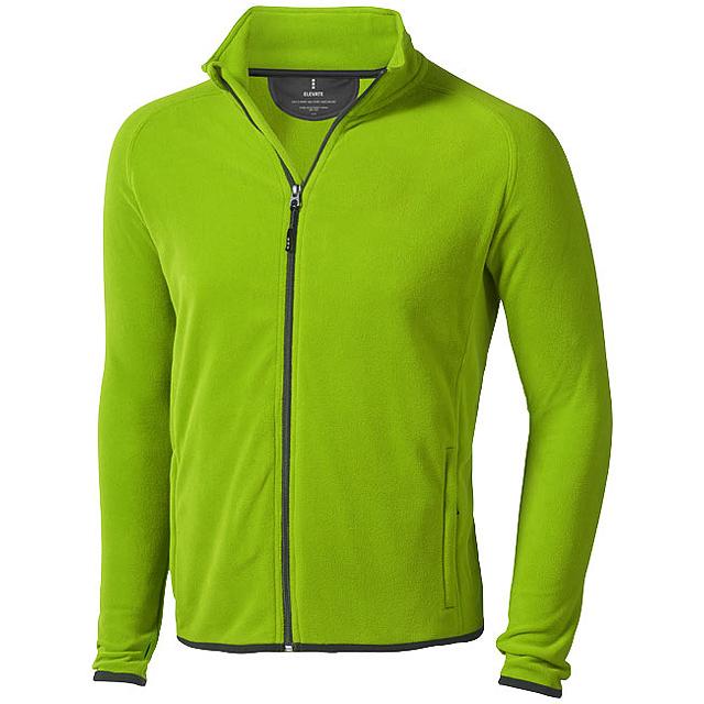 Bunda Brossard z materiálu mikro fleece - zelená