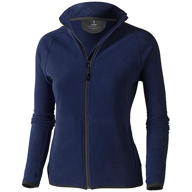 Dámská bunda Brossard z materiálu mikro fleece - modrá