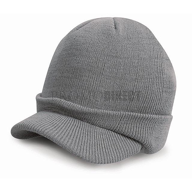 Result Caps - Čepice s kšiltem - černá