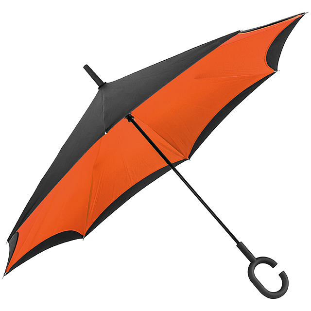 Skládací deštník - oranžová