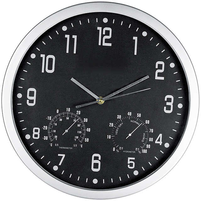 CrisMa wall clock - black