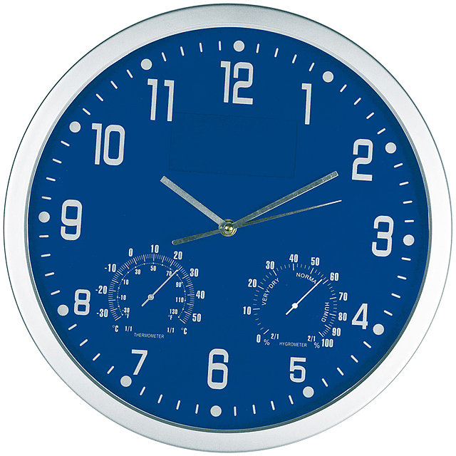 CrisMa wall clock - blue