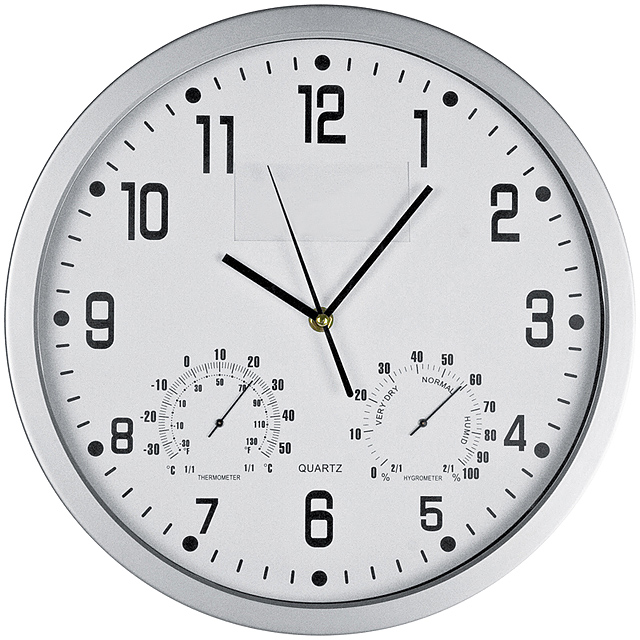 CrisMa wall clock - white