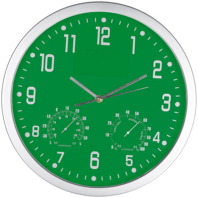CrisMa wall clock - green