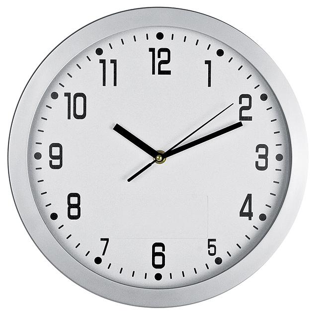 CrisMa nástenné hodiny - biela