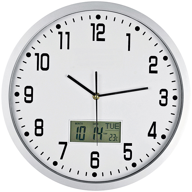 CrisMa Analogue wall clock - white