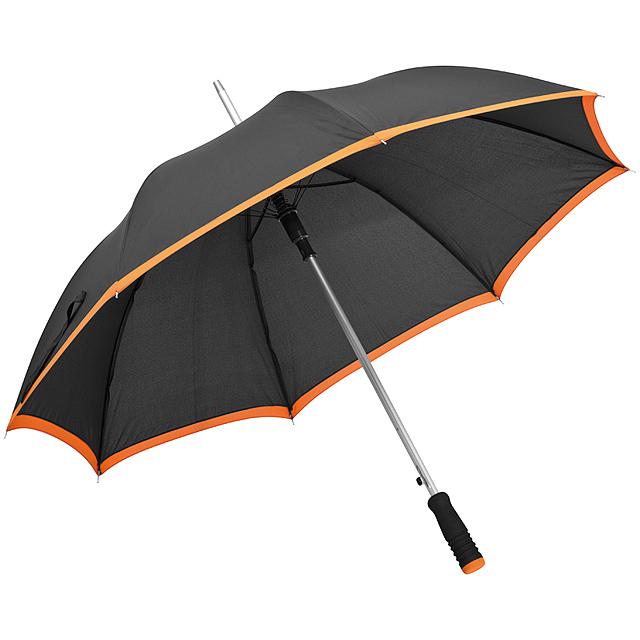 Automatický deštník - oranžová
