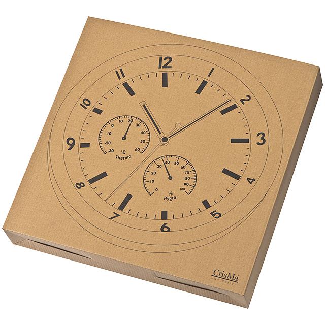 Kovové nástenné hodiny - čierna