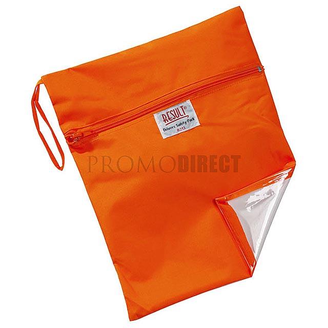 Result - taška na bezpečnostní vestu - oranžová