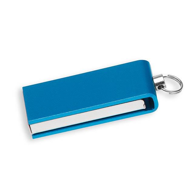 USB FLASH 32 - hliníkový USB FLASH disk 4GB, rozhranie 2.0. - zelená