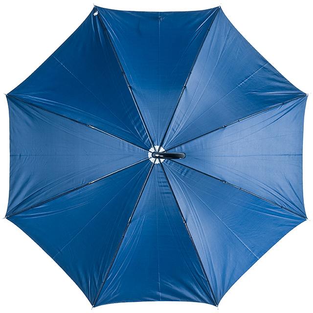 Deštník s plastovou rukojetí - modrá