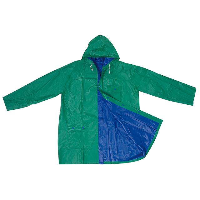 de666f5591 Praktická pláštenka - modrá