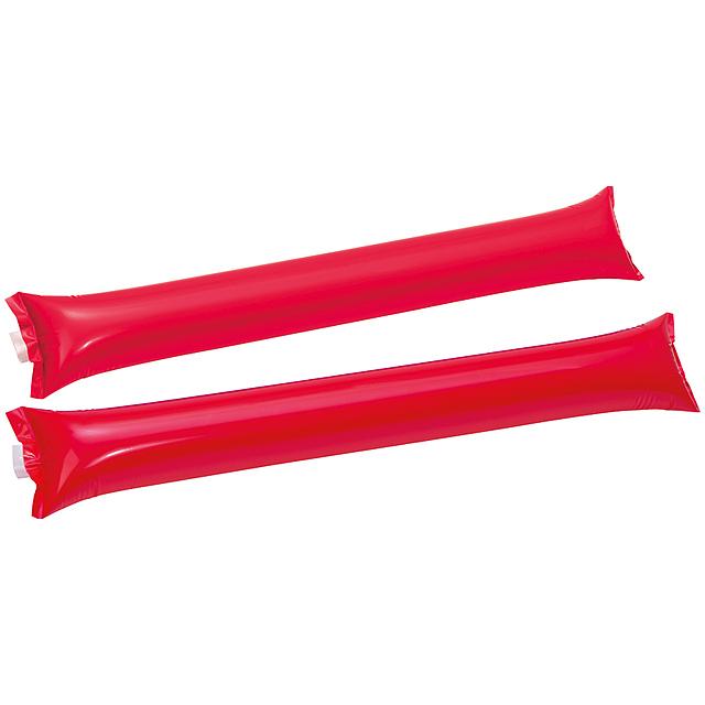 Fandící hůl - červená