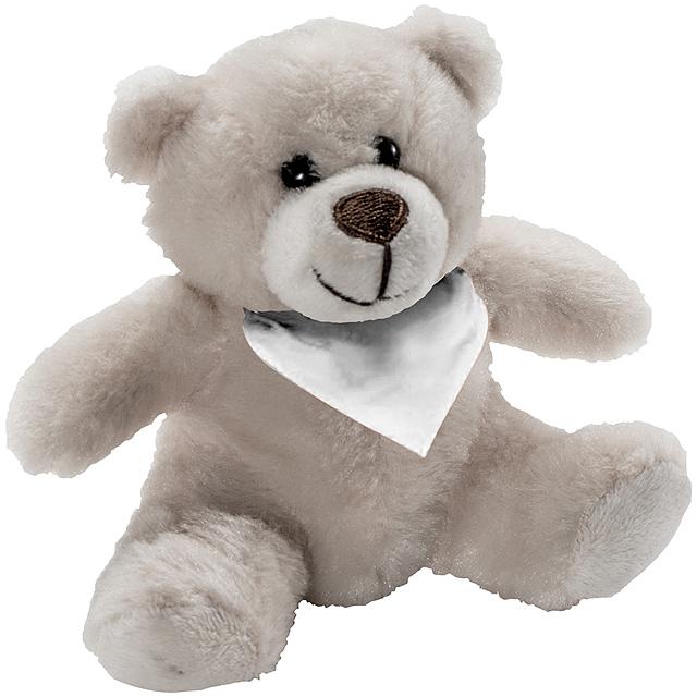 Plyšový medvídek - baby - béžová