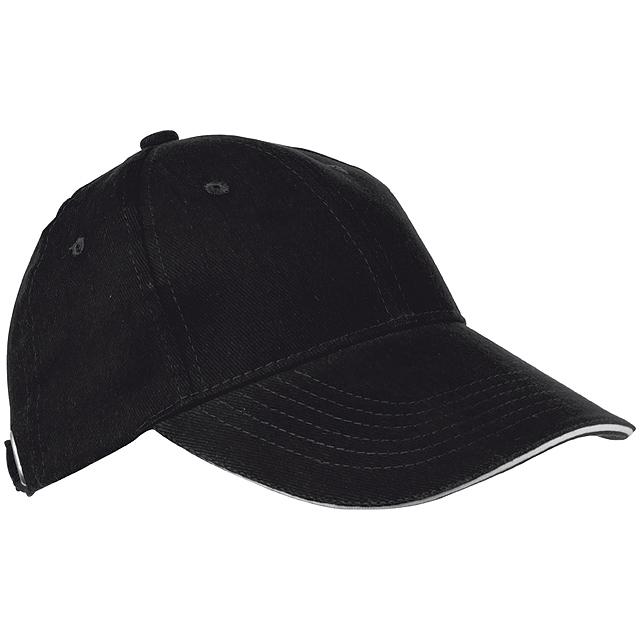 Sandwich baseballová čepice - černá