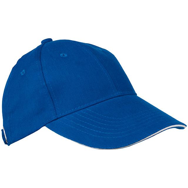 Sandwich baseballová čepice - modrá