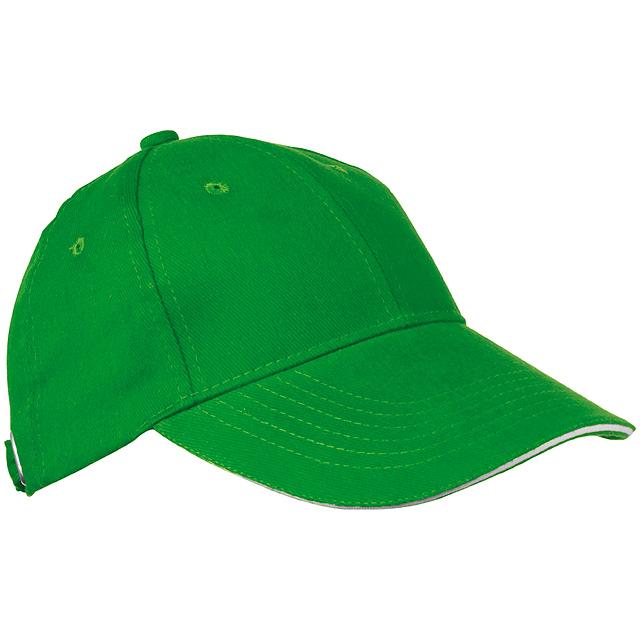 403be8c8219 Sandwich baseballová čepice - zelená