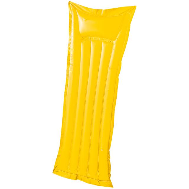 Ice nafukovací lehátko - žlutá