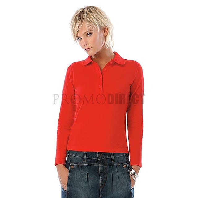 B&C - Dámske triko - dlouhý rukáv - černá