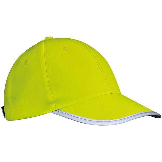 Kšiltovka pro děti - žlutá