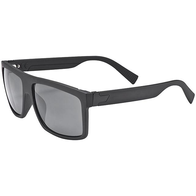 Pogumované sluneční brýle - černá