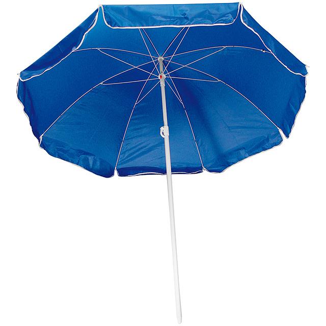 Plážový slunečník - modrá