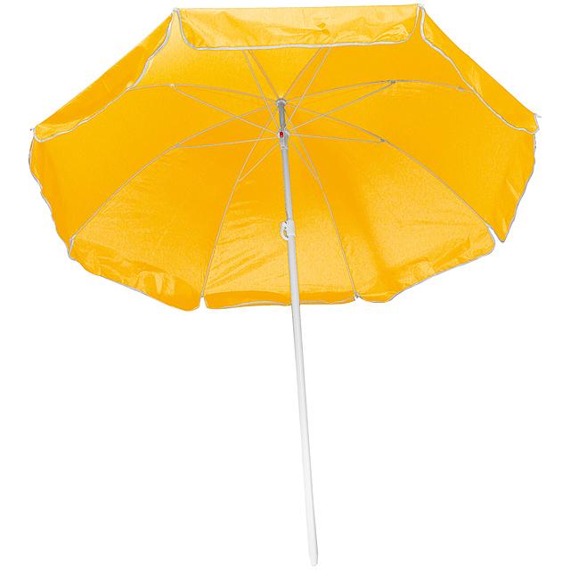 Plážový slunečník - žlutá