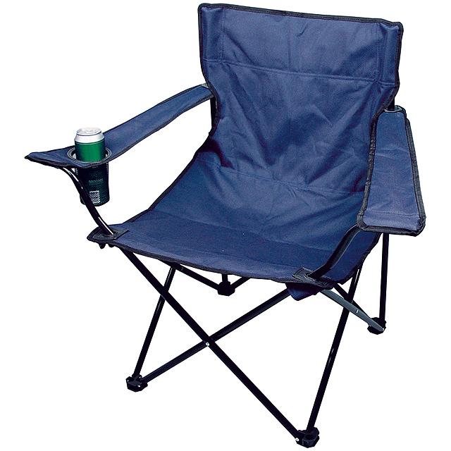 Foldable armchair - blue