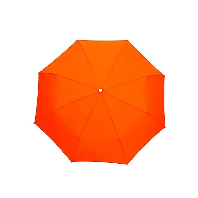 Skládací deštník TWIST - oranžová