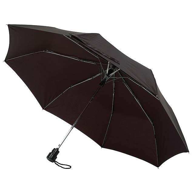 Automatický kapesní deštník PRIMA - černá