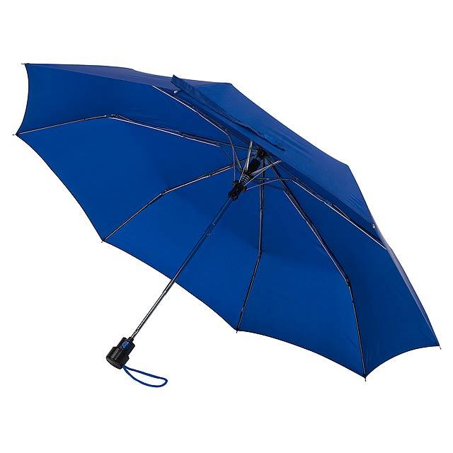 Automatický kapesní deštník PRIMA - modrá