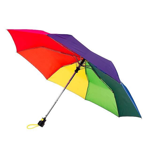 Automatický kapesní deštník PRIMA - multicolor