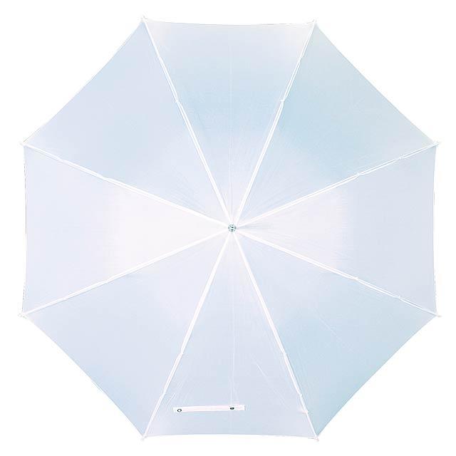 Automatický holový deštník  DANCE - bílá