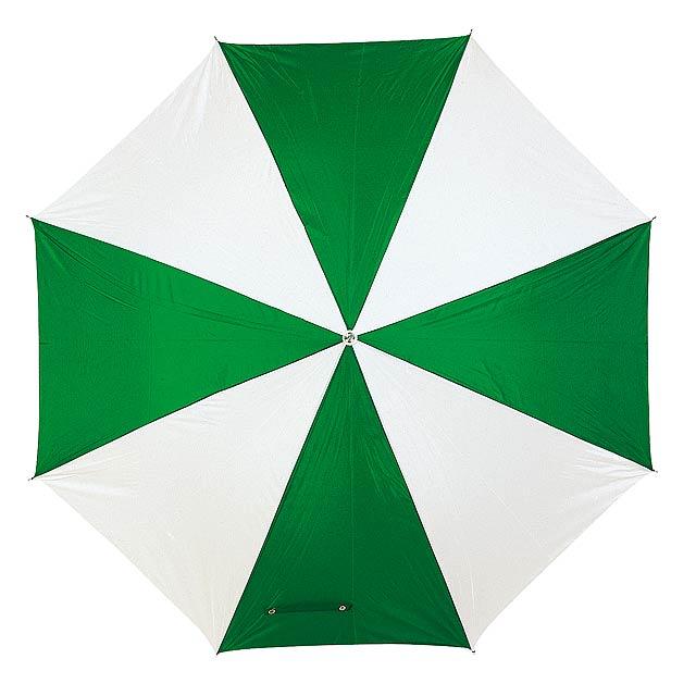 Automatický holový deštník  DISCO - zelená