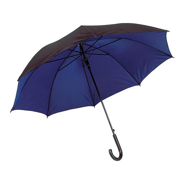 Automatický holový deštník  DOUBLY - modrá