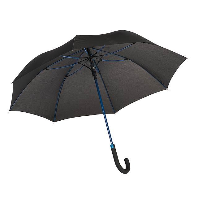 Automatický holový deštník  CANCAN - modrá