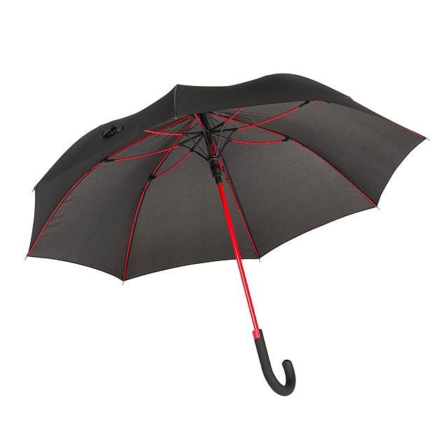 Automatický holový deštník  CANCAN - červená