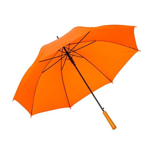 Automatický holový deštník  LIMBO - oranžová