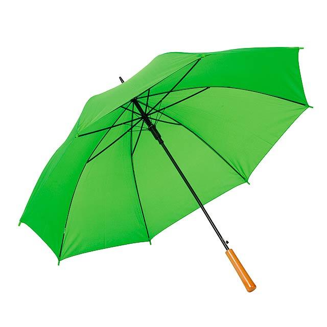 Automatický holový deštník  LIMBO - citrónová - limetková
