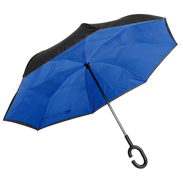 Deštník FLIPPED - modrá