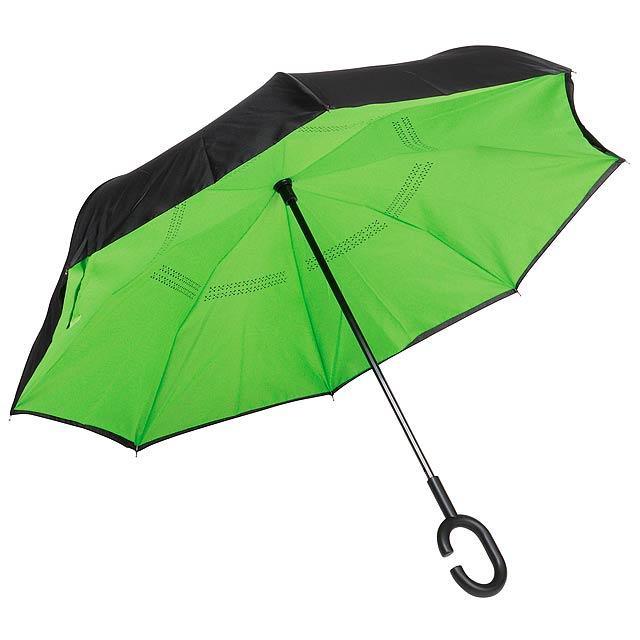 Deštník FLIPPED - zelená